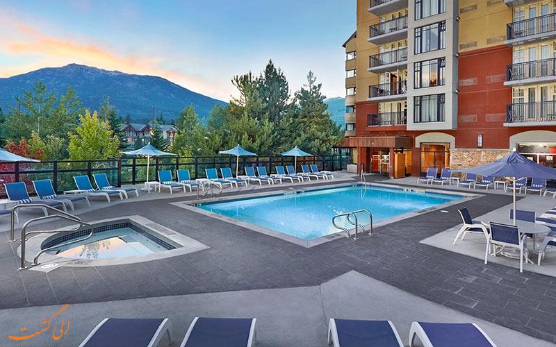 اقامتگاه هیلتون ویستلر-بهترین هتل های کوهستانی دنیا