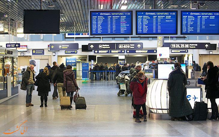 دسترسی فرودگاه لیتوانی