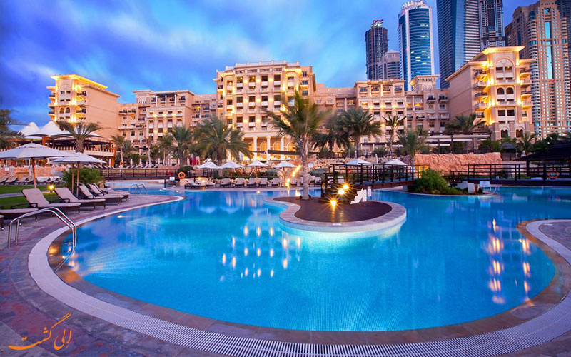 استخر-هتل وستین دبی مینا