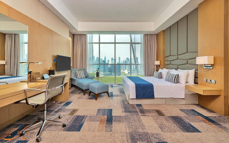 امکانات اتاق های هتل کانال سنترال دبی