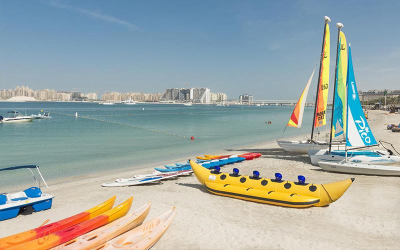 امکانات تفریحی هتل وستین دبی مینا