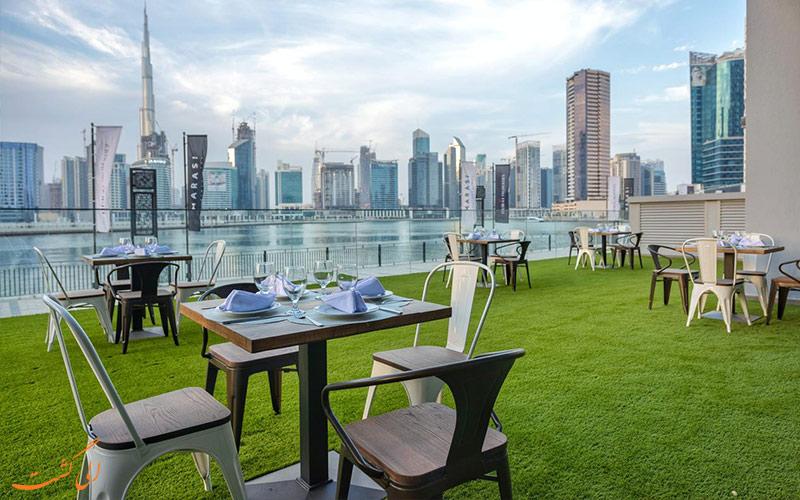 امکانات تفریحی هتل کانال سنترال دبی