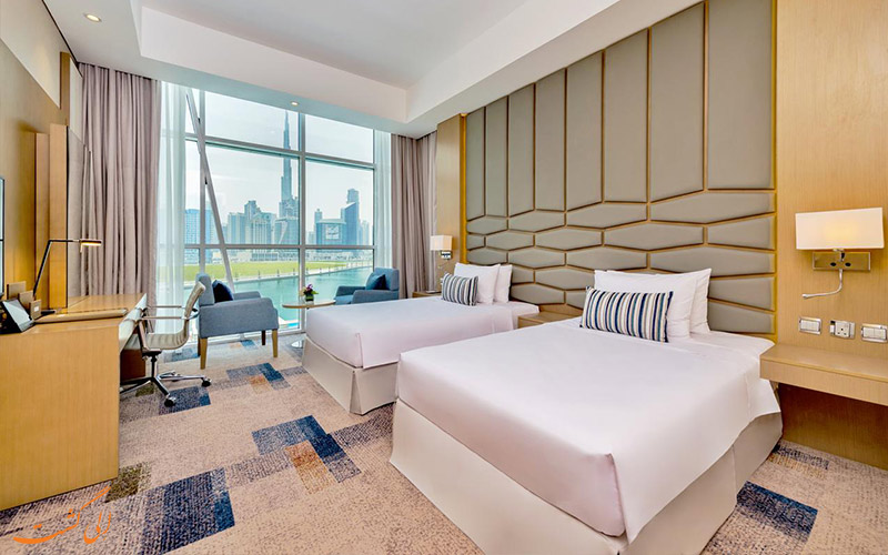 انواع اتاق های هتل کانال سنترال دبی