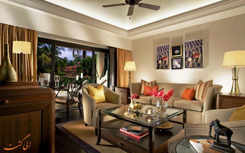 انواع اتاق ها در هتل لیلا گوا