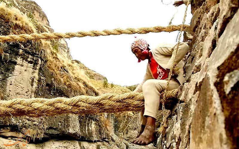 جشن سالانه در پل طنابی اینکاها