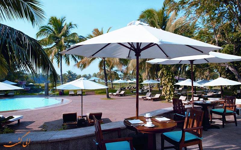 خدمات تفریحی هتل لیلا گوا