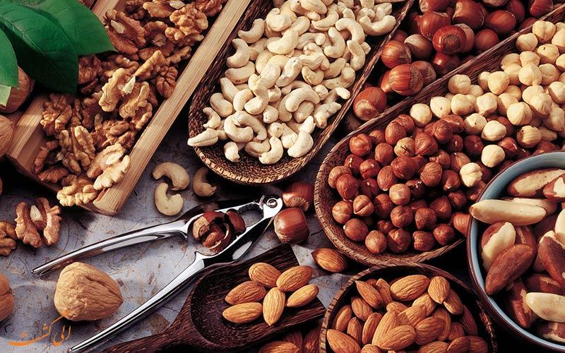 خشکبار-و-شیرینی-سوغات مشهد