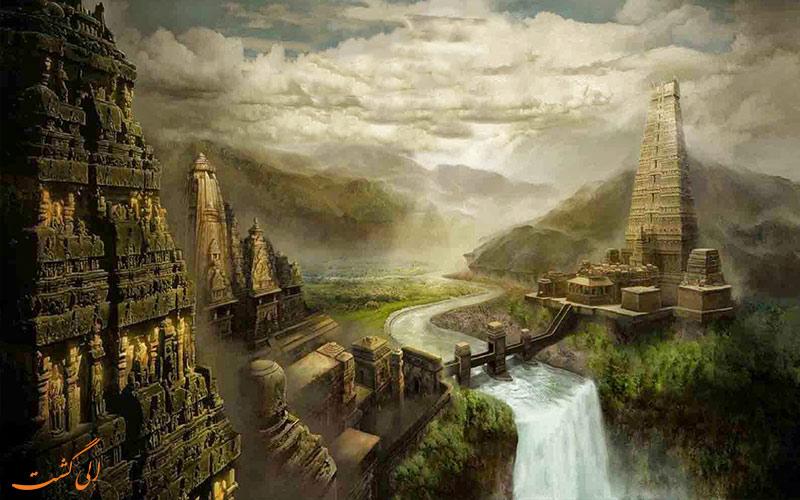 شهر گمشده دوارکا هند-The Lost City Of Dwarka