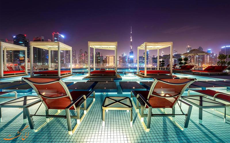 فاصله هتل کانال سنترال دبی تا جاذبه های دبی