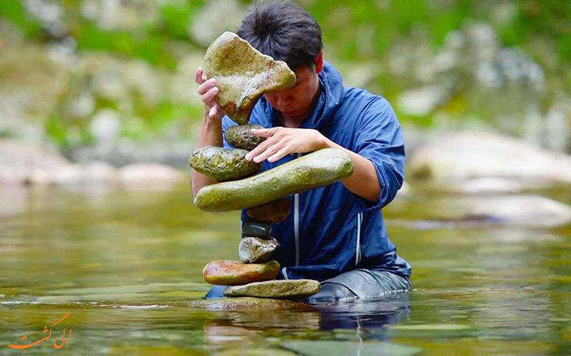 مزایای تعادل سنگ ها