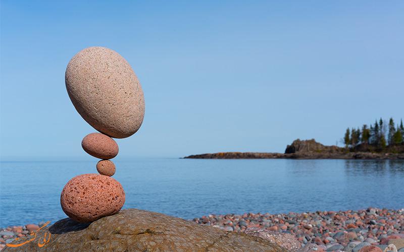 نکاتی در تعادل سنگ ها