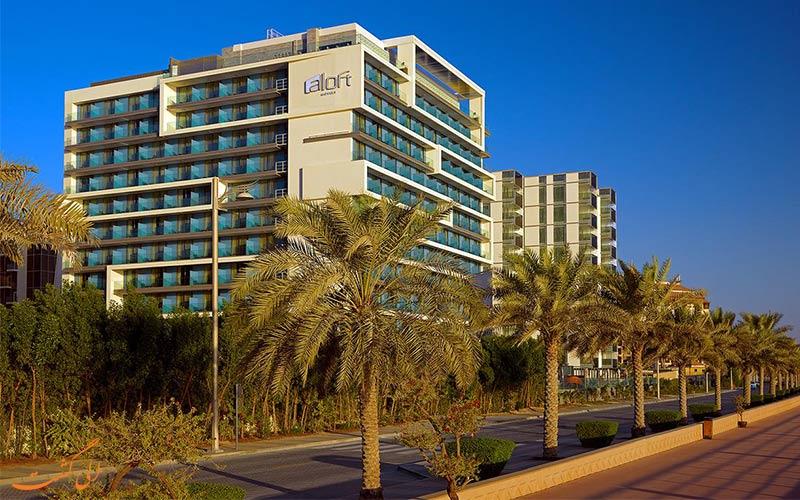 هتل آلوفت پالم جمیرا دبی-فاصله تا جاذبه ها