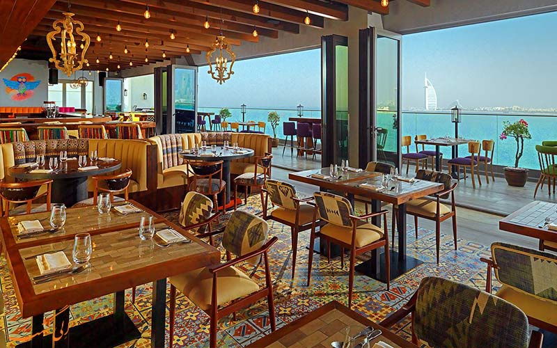 هتل آلوفت پالم جمیرا دبی- غذاخوری