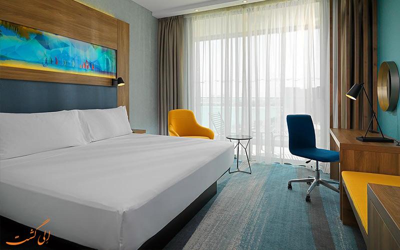 انواع اتاق های هتل آلوفت پالم جمیرا دبی