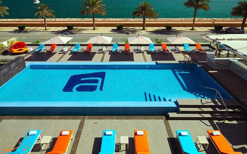 هتل آلوفت پالم جمیرا دبی-استخر