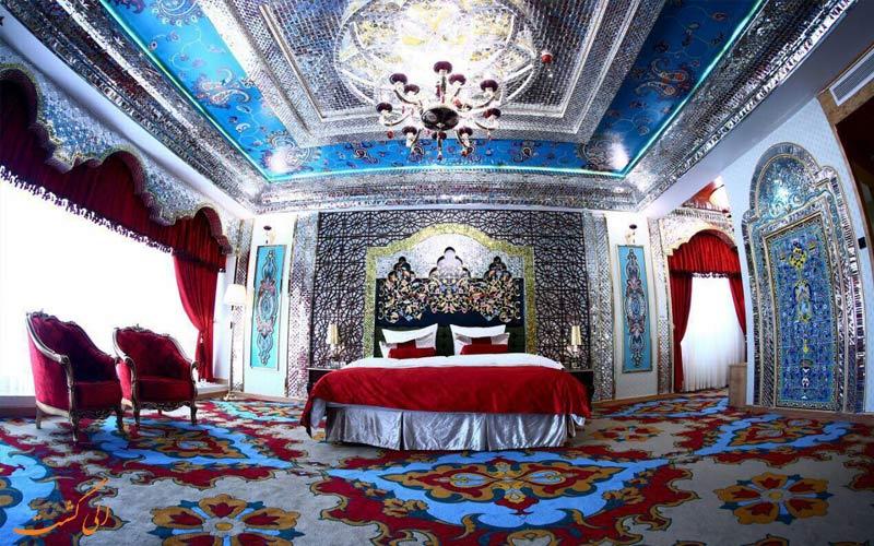 قیمت اتاق ماه عسل هتل الماس 2 مشهد، بهترین هتل های مشهد