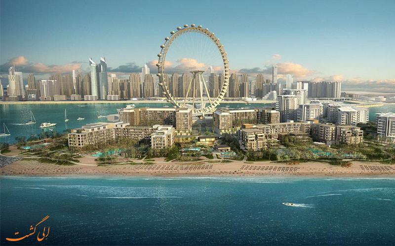 هتل سزار ریزورت بلوواتر دبی-Caesars Resort Bluewaters