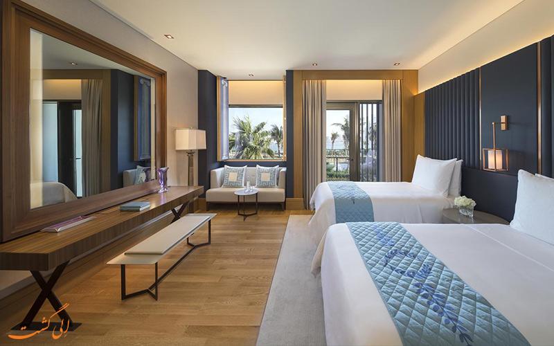 انواع اتاق های هتل سزار ریزورت بلوواتر دبی