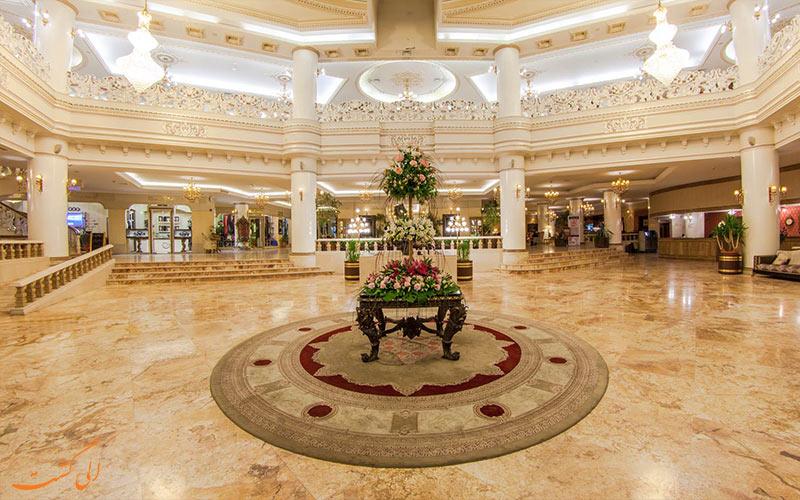 هتل قصر طلایی، بهترین هتلهای مشهد