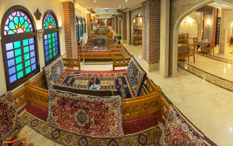 قیمت منوی غذا در هتل مدینه الرضا مشهد-بهترین هتل های مشهد