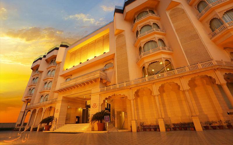 هتل گلدن تولیپ جیپور-بهترین هتل های 4 ستاره جیپور