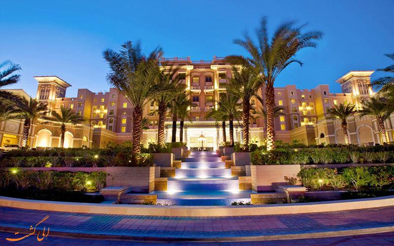 ورودی هتل وستین دبی مینا