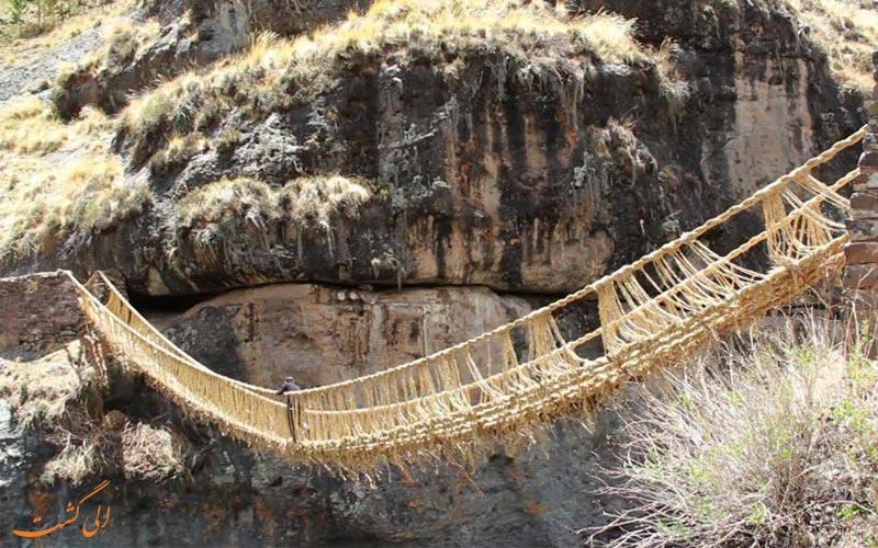 پل طنابی اینکاها و قدیمی ترین پل جهان