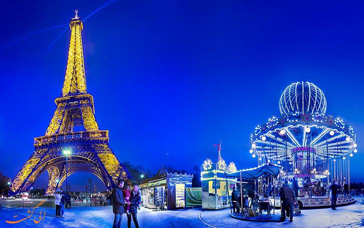 فرانسه دارای بیشترین گردشگر