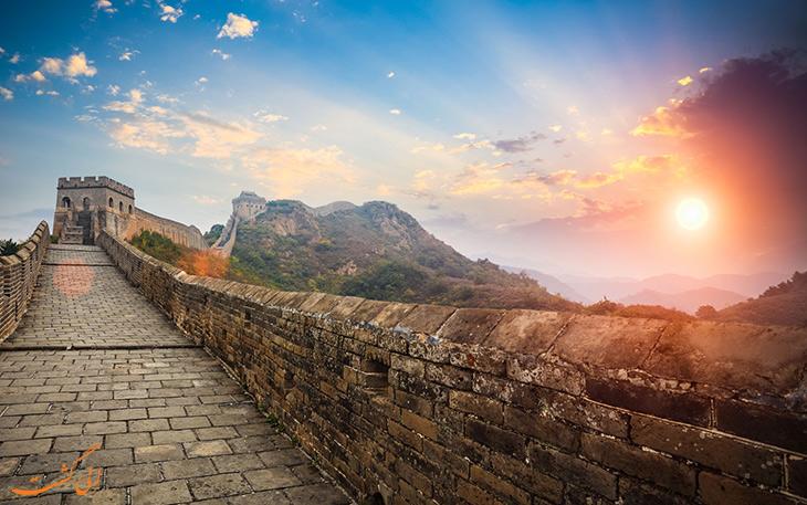 حقایق دیوار چین در خصوص گسترش گردشگری
