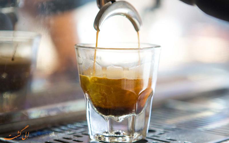 فرآیند دم کردن قهوه