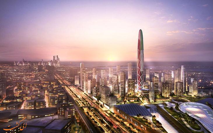 برج جدید دبی