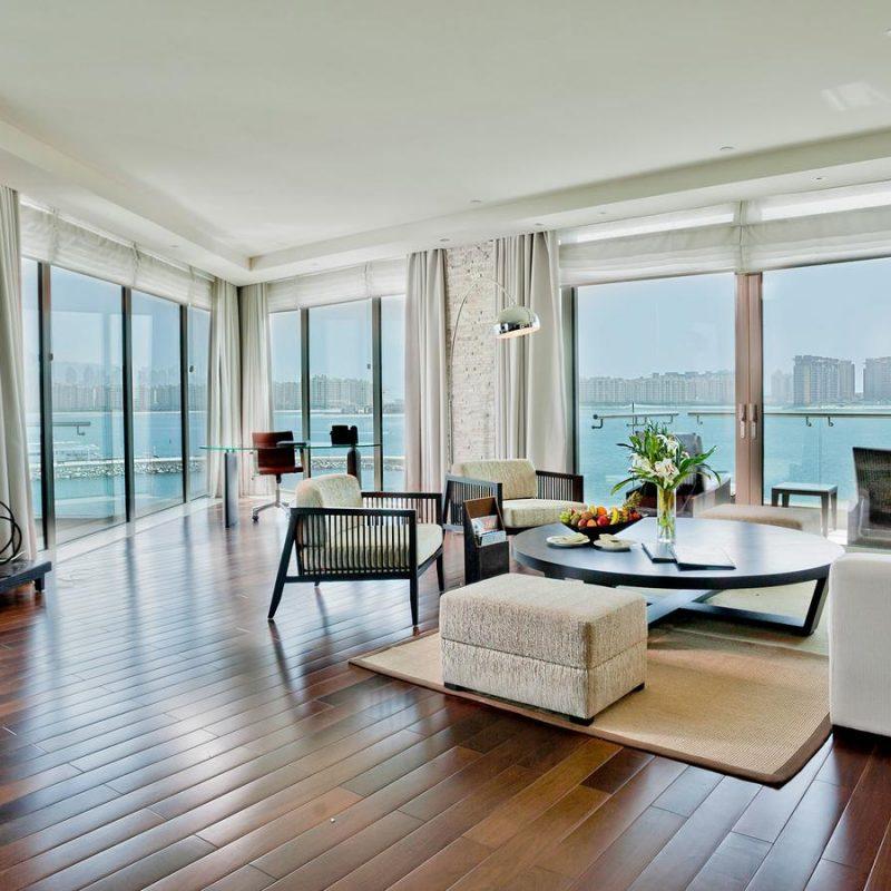 انواع اتاق های هتل ریکسوس د پالم دبی