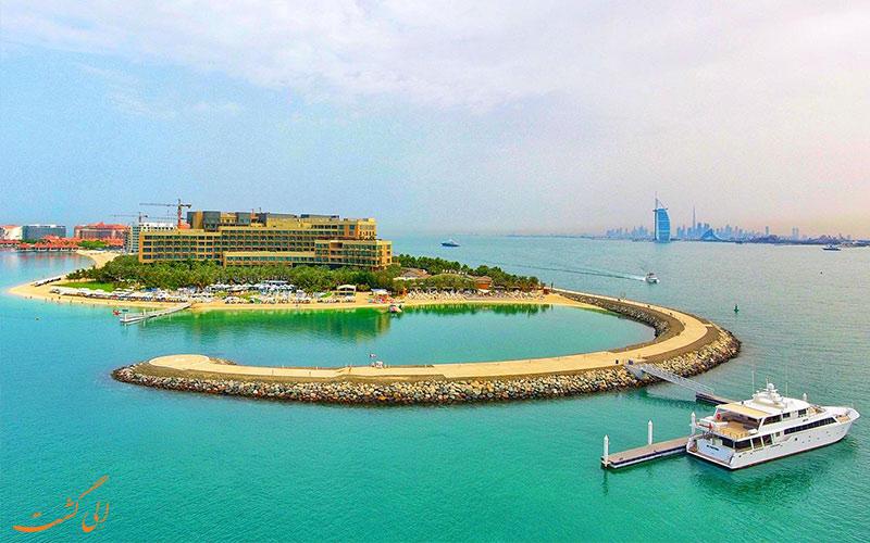 فاصله هتل ریکسوس د پالم دبی تا جاذبه های دبی