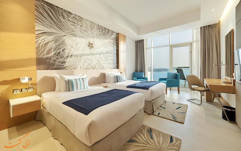 انواع اتاق های هتل رویال سنترال پالم دبی