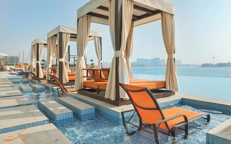 امکانات تفریحی هتل رویال سنترال پالم دبی