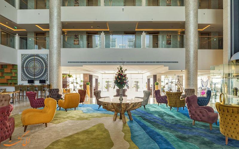 مکان هتل رویال سنترال پالم دبی