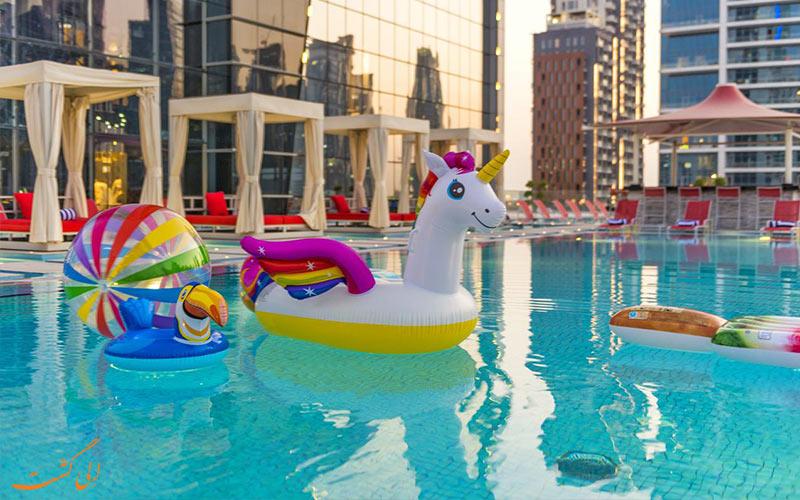 خدمات رفاهی هتل کانال سنترال دبی