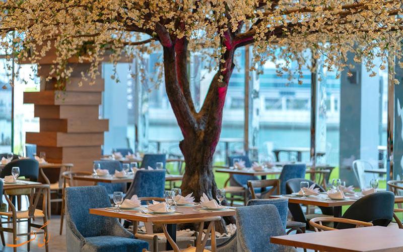 رستوران های هتل کانال سنترال دبی