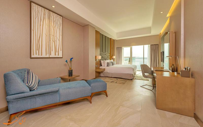 امکانات اتاق های هتل رویال سنترال پالم دبی