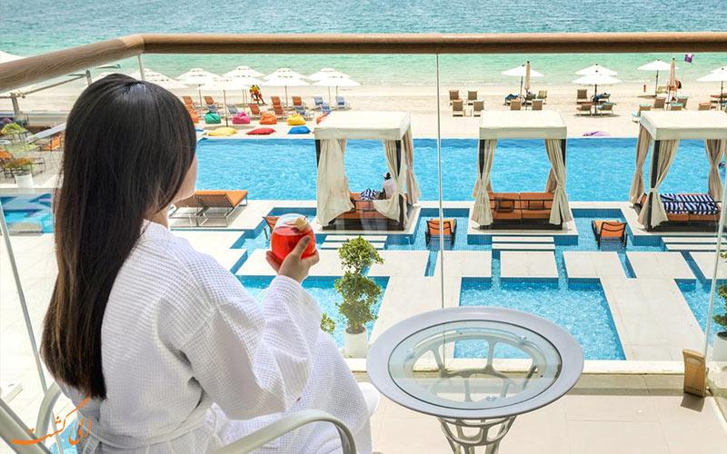 اتاق ها در هتل رویال سنترال پالم دبی