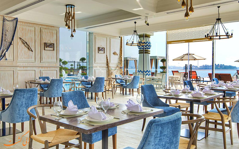 رستوران هتل رویال سنترال پالم دبی
