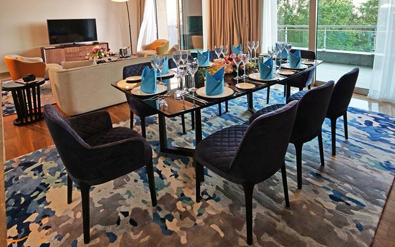 امکانات اتاق های هتل ریکسوس د پالم دبی