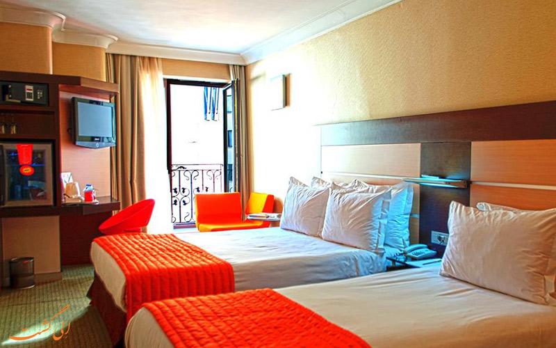 امکانات اتاق های هتل لامارتین استانبول