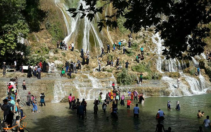 آبشارهای، جاذبه های دیدنی قطار گردشگری لرستان