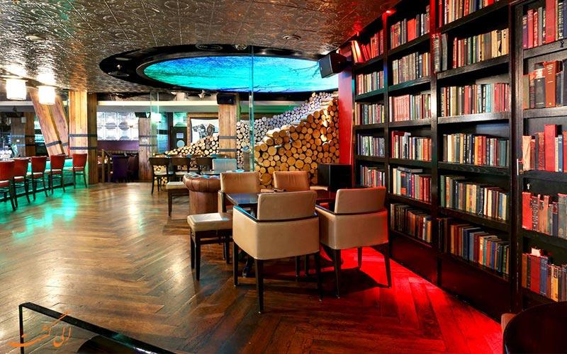 کتابخانه هتل بونینگتون دبی