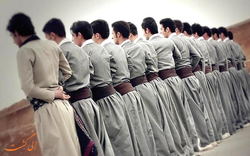 لباس های سنتی کردی-لباس های محلی کردی