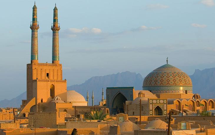 کاهش تخریب آثار تاریخی یزد