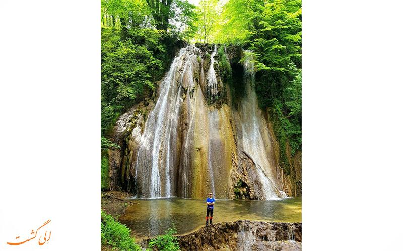 مسیرهای دسترسی به آبشار اسکلیم رود در سوادکوه