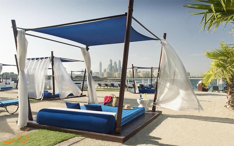 خدمات رفاهی هتل ریکسوس د پالم دبی