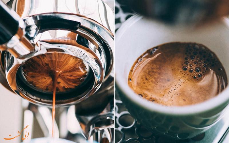 برخی از اصطلاحات مصطلحِ قهوه ی اسپرسو